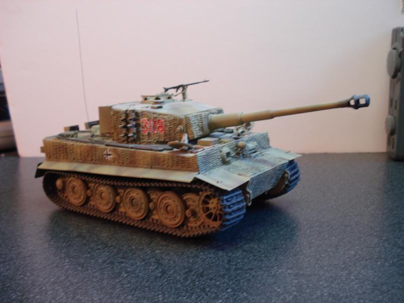 German Tiger I – Tamiya 1/35 (Late)