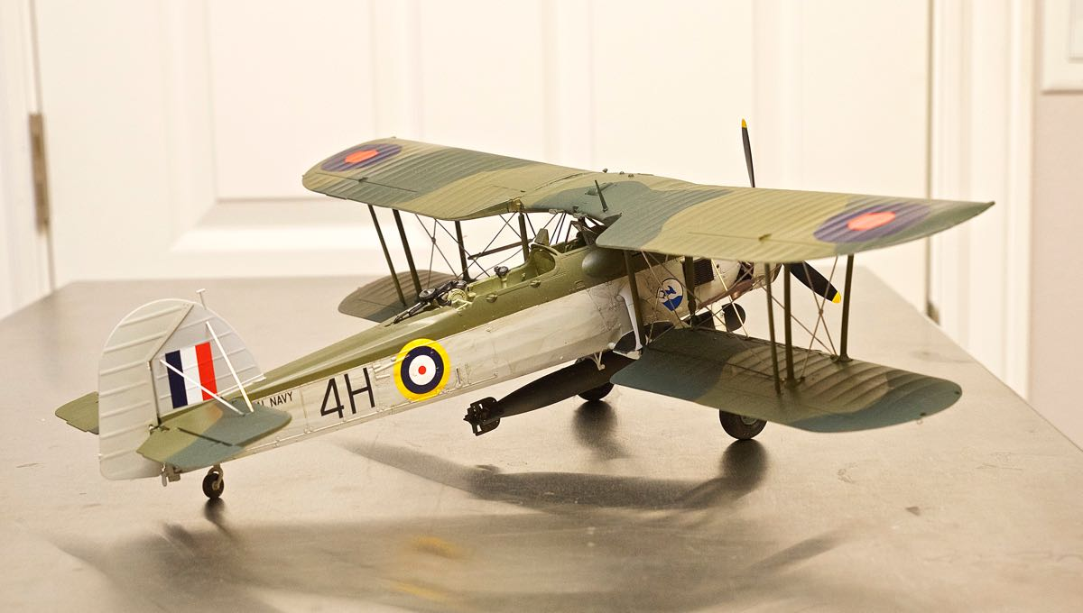 FAIREY SWORDFISH MK 1 1/32 BY TRUMPETER