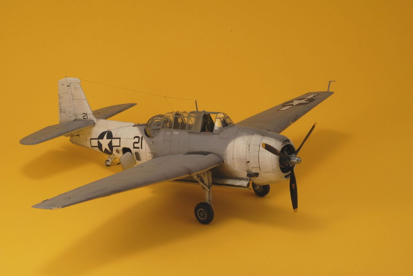 TBM-3 WWII US Navy Bomber – Accurate Miniatures 1/48
