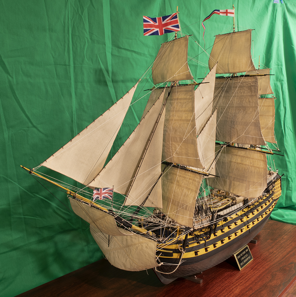 HMS Victory – Imai or Heller 1/100 (Final Pictures)