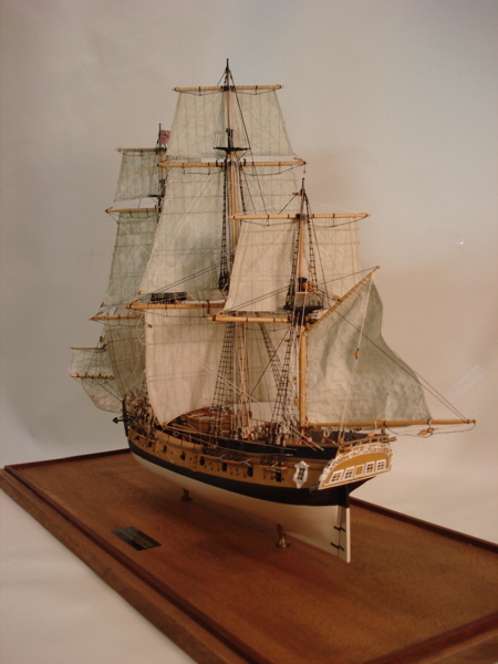 Building Model Shipways Rattlesnake Wood Ship Model | Bishop Hobbies