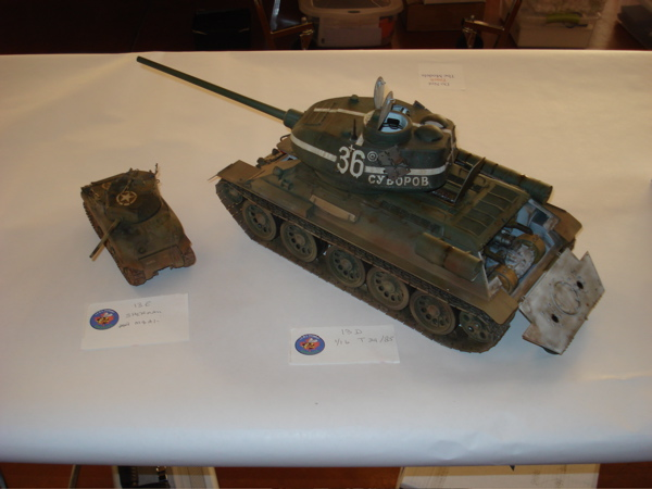 Building the Trumpeter 1/16 T-34/85 Russian tank