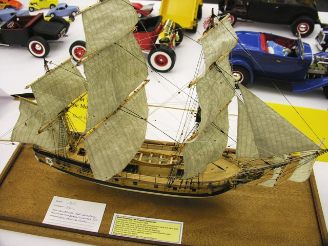 Privateer Rattlesnake – Model Shipways 1/64